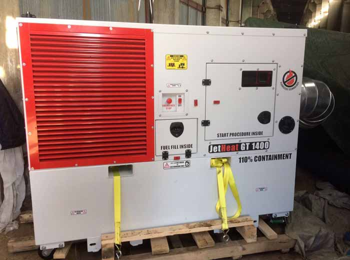 JetHeat Industrial Heater sold to Russia